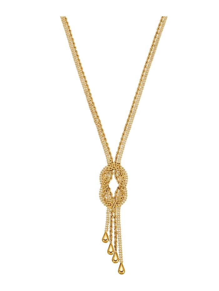 Diemer Gold Collier, Gelbgoldfarben
