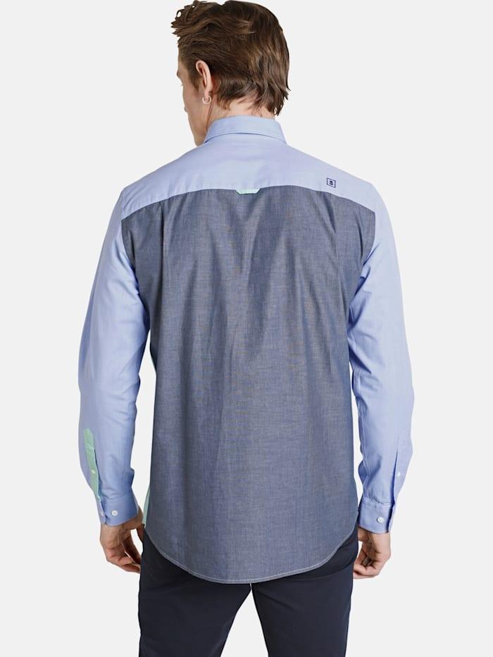 Shirtmaster Chambrayhemd frombluetogreen