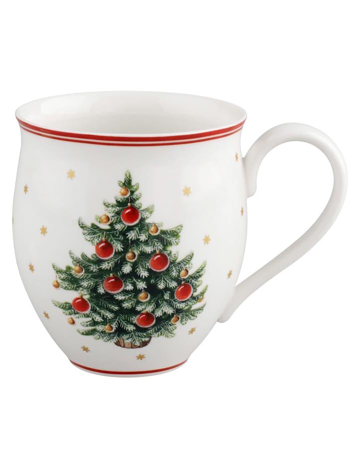 Villeroy & Boch KoffiemokToys Delight, wit/rood/groen