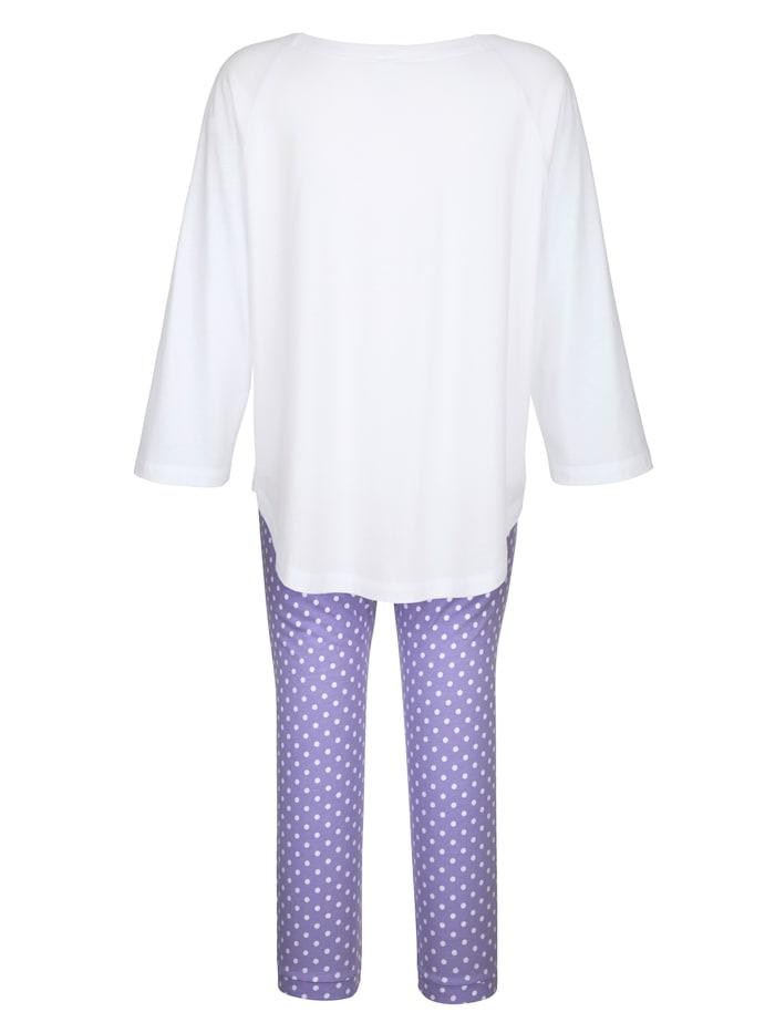 Pyjama met schattig borduursel