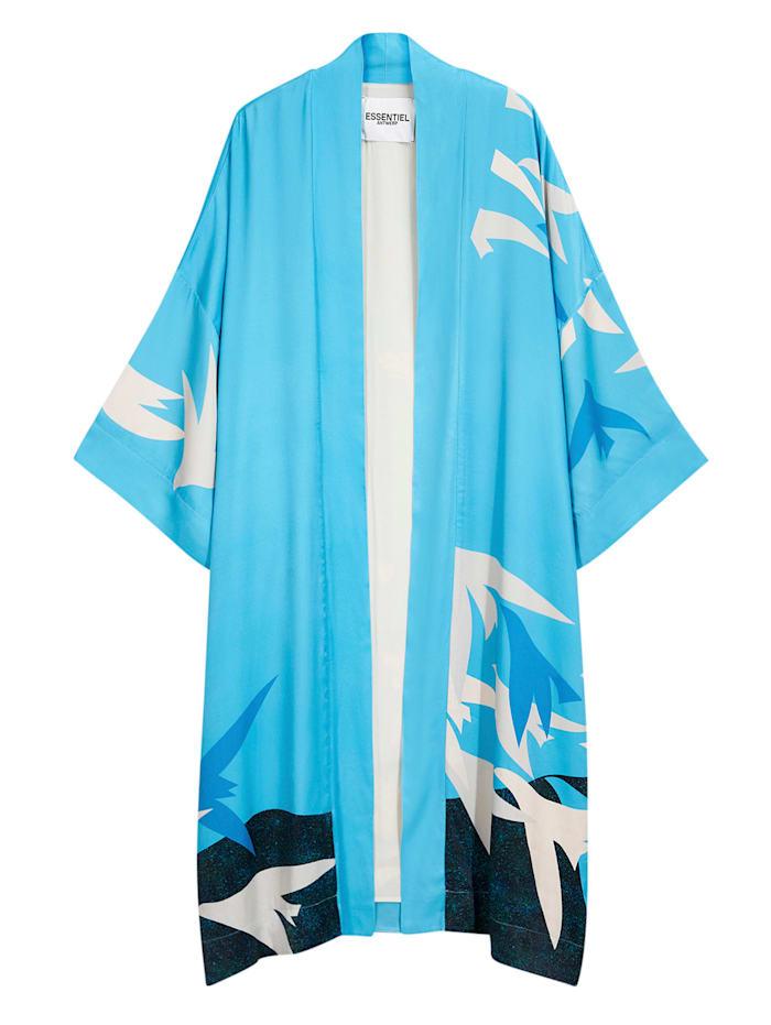 ESSENTIEL ANTWERP Kimono, Hellblau