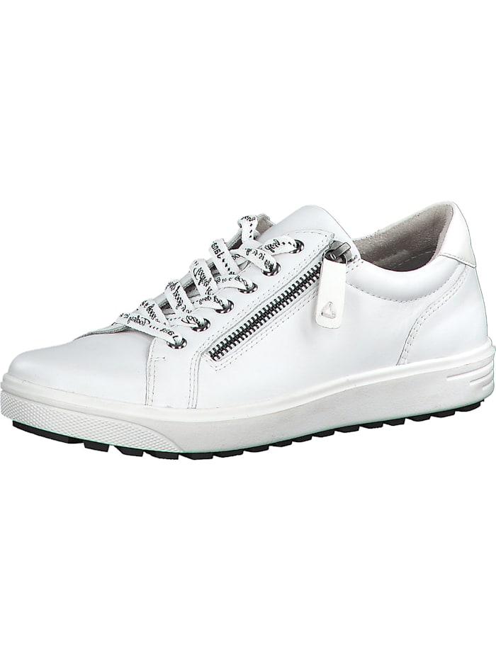 Jana Sneakers Low, weiß