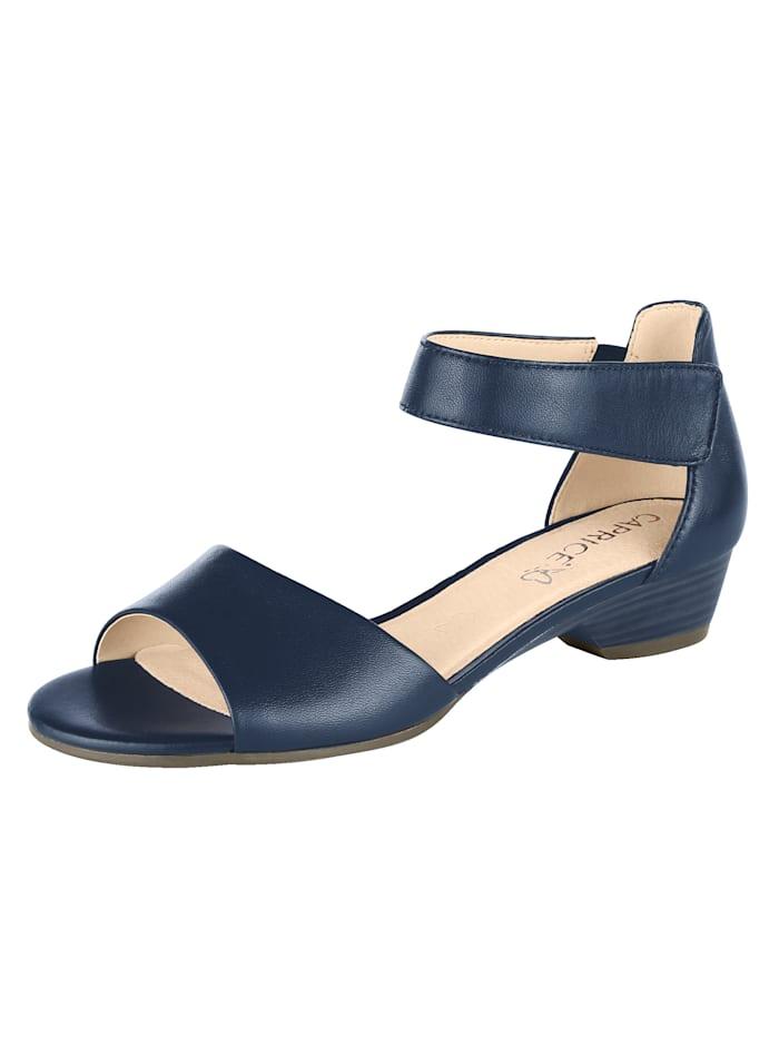 Sandalette mit walking on air Lederdecksohle
