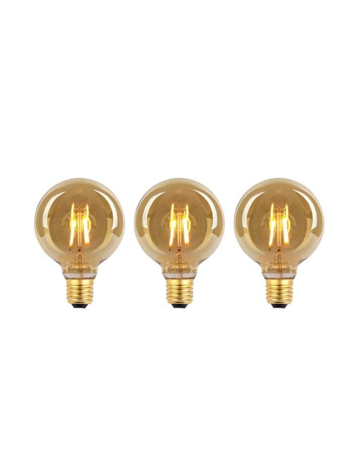 3er Set LED-Leuchmittel E27/4W
