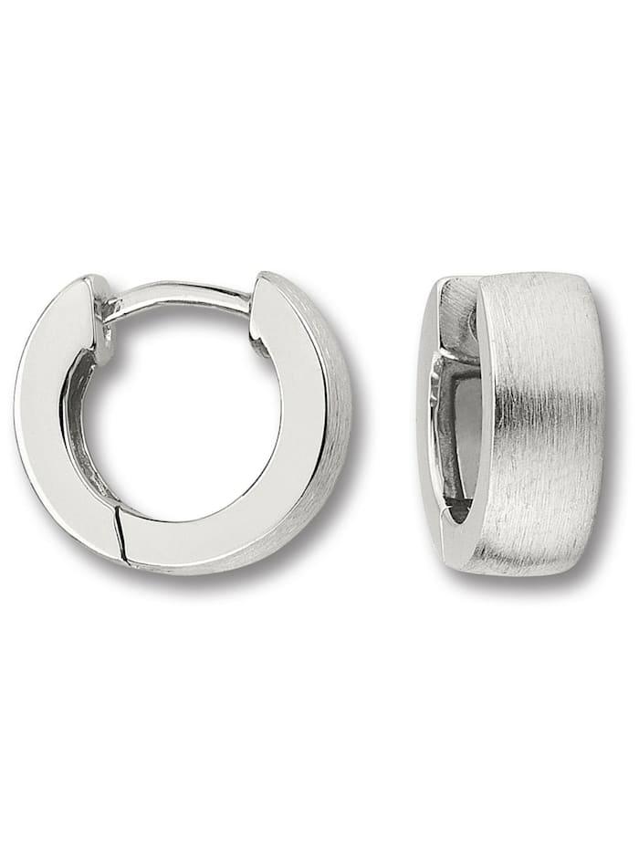 One Element Damen Schmuck Orhringe / Creolen aus 925 Silber, silber