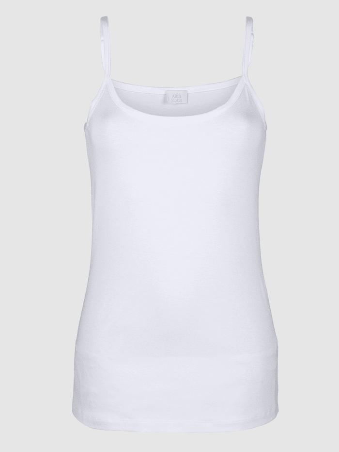 Alba Moda Spagettitoppi, Valkoinen