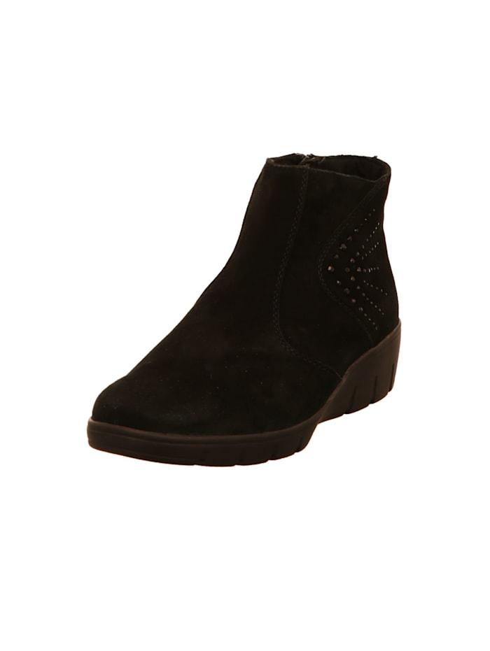 Semler Damen Stiefelette in schwarz, schwarz