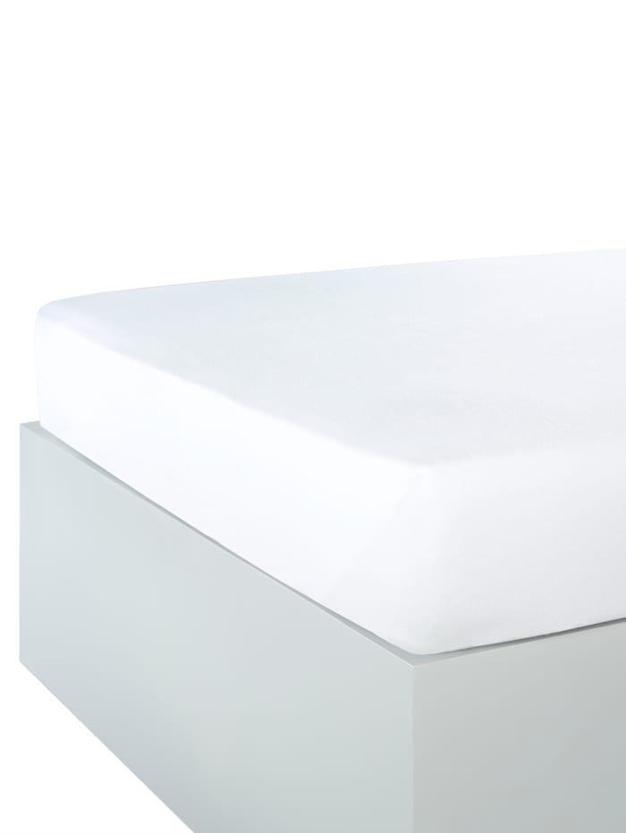 Drap-housse en microfibre polaire, Blanc