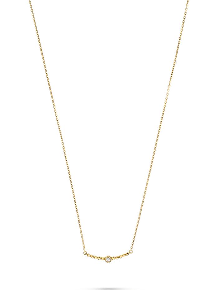 CHRIST Diamonds CHRIST Diamonds Damen-Kette 1 Diamant, gelbgold