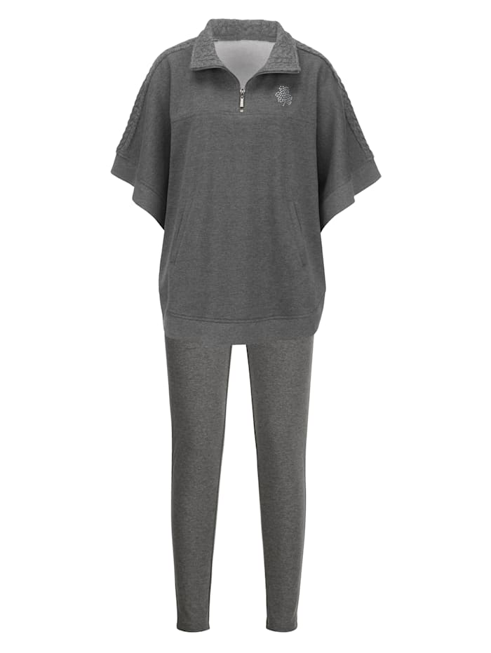 Loungewear Top & Trousers Slim fit