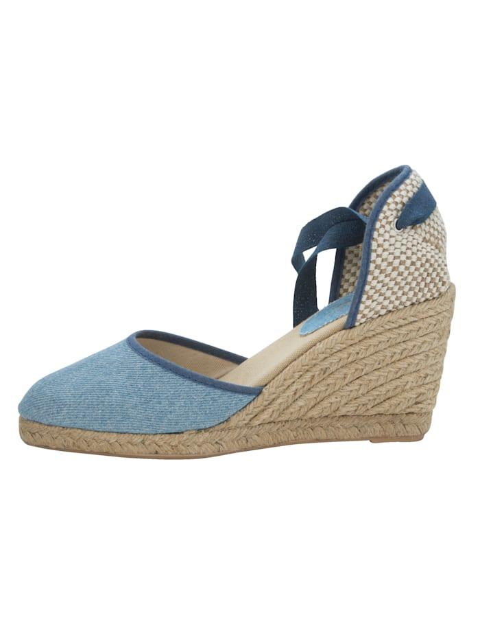 Sandaaltje in trendy jeanslook