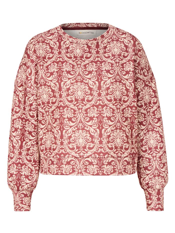 ROCKGEWITTER Sweatshirt, Bordeaux