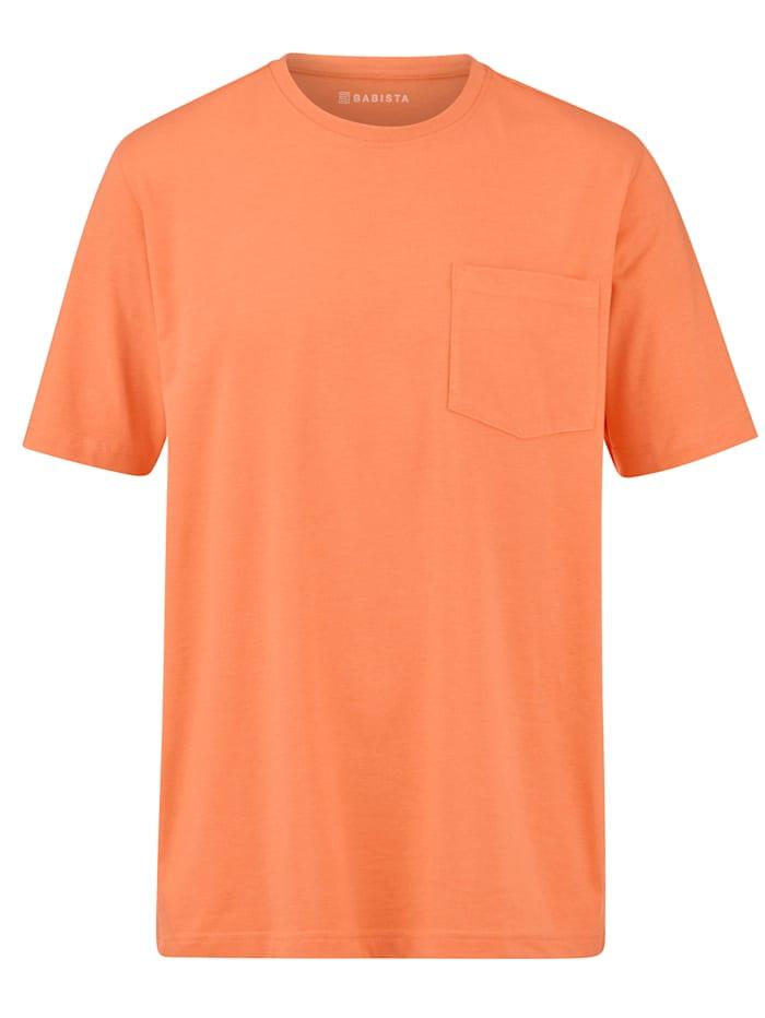 BABISTA T-Shirt mit Brusttasche, Orange