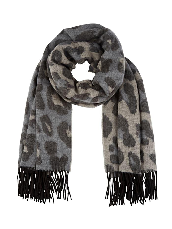Fraas Cashminkscarf, Grey/Beige