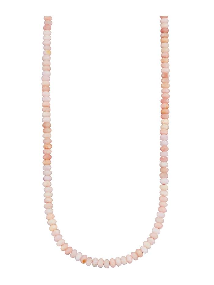 Ketting met opaal, Roze