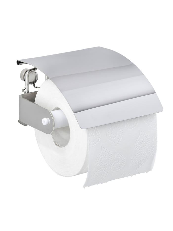 Wenko Toilettenpapierhalter Premium Plus, Edelstahl, Glänzend