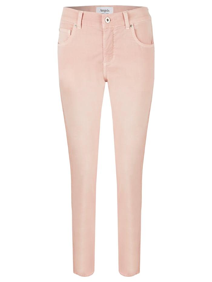 Angels Jeans 'Skinny Galon' mit strukturiertem Galonstreifen, rose used