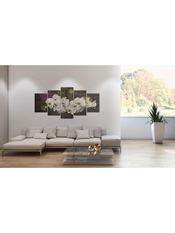 Wandbild Wie eine weiße Wolke - 5 Teile