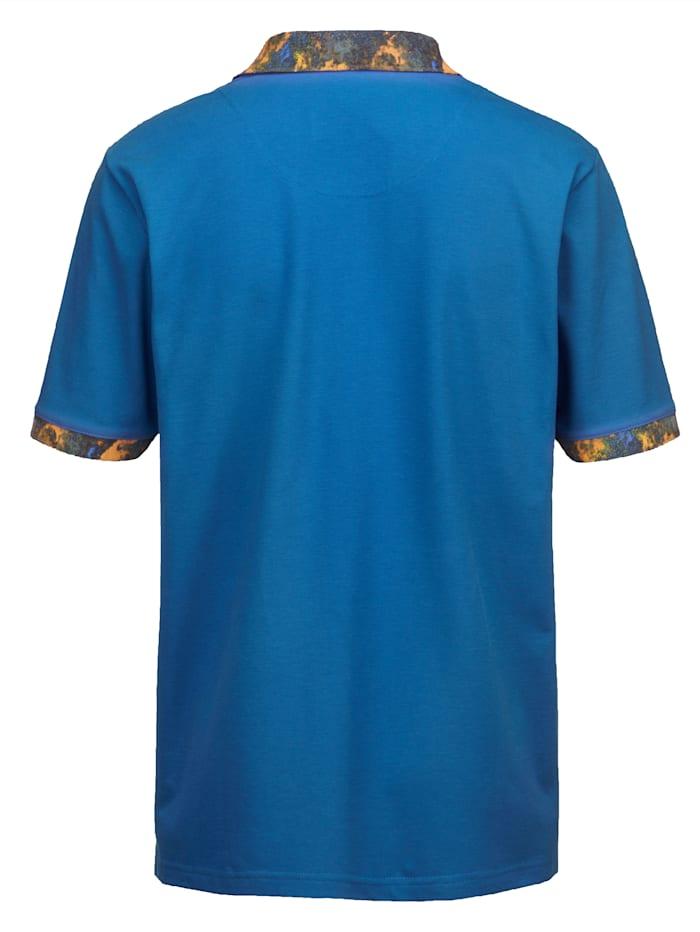 Polo tričko s kontrastnou potlačou