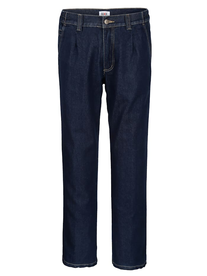 Roger Kent Thermojeans met warme thermovoering, Dark blue