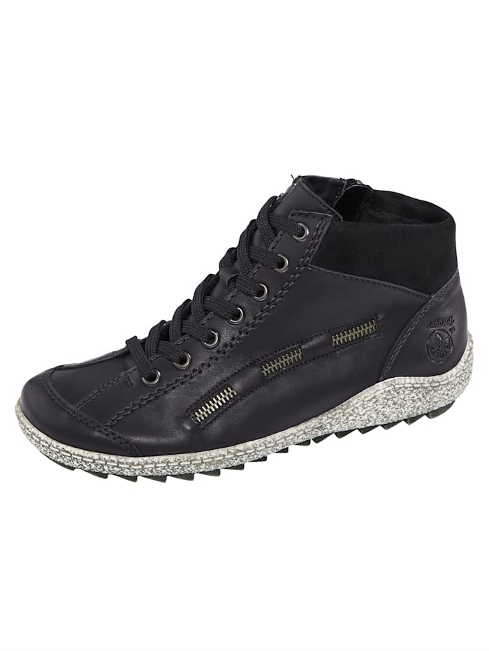 Rieker Ankle boots in a sportystyle, Black