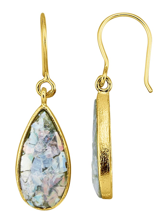 Ohrringe in Silber 925, Multicolor