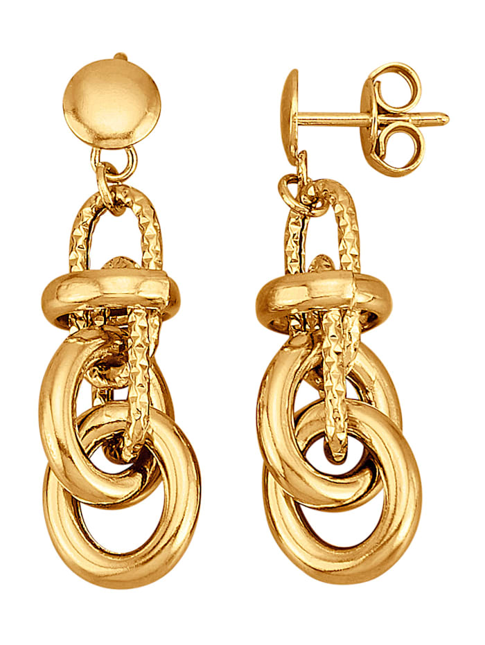 Diemer Gold Ohrringe in Gelbgold 585, Gelbgoldfarben