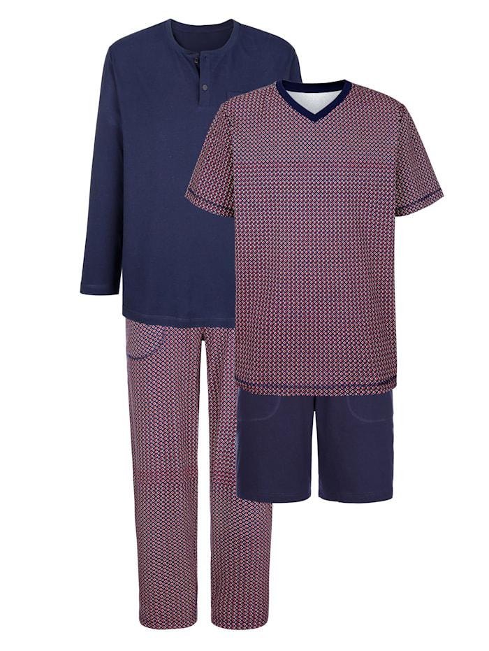 BABISTA Set pyjama's van Cotton made in Africa, Marine