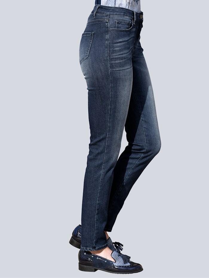 Jeans mit Powermesh-Einsatz