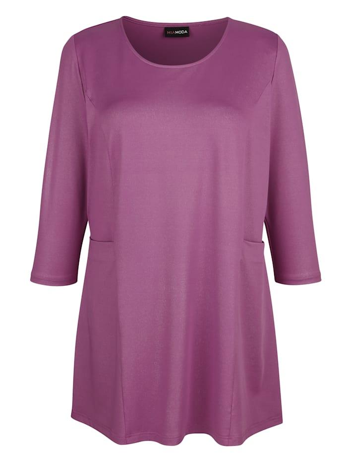Shirt in modieuze A-shape
