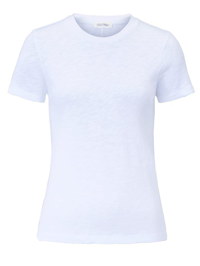 American Vintage T-Shirt aus Baumwolle, Off-white