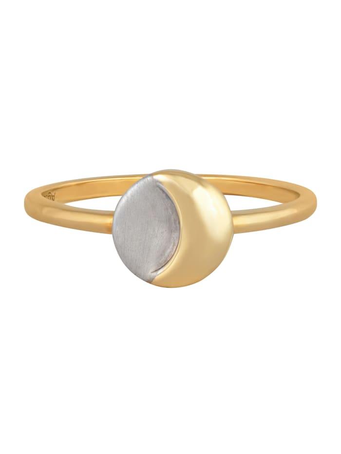 CAI Ring 925/- Sterling Silber Glänzend, gelb