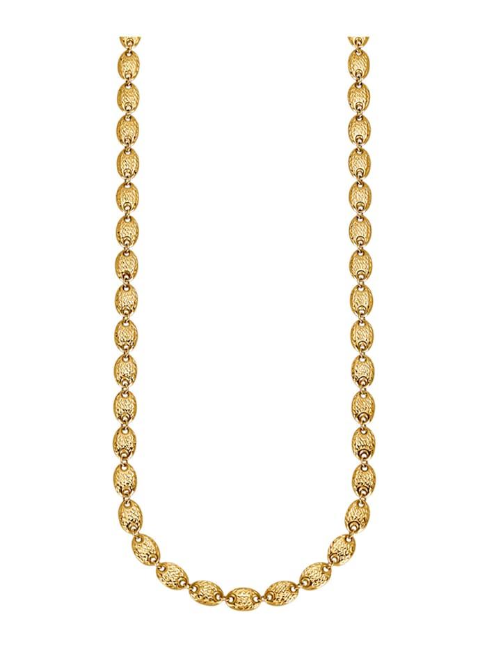 Diemer Highlights Halskette, Gelbgoldfarben