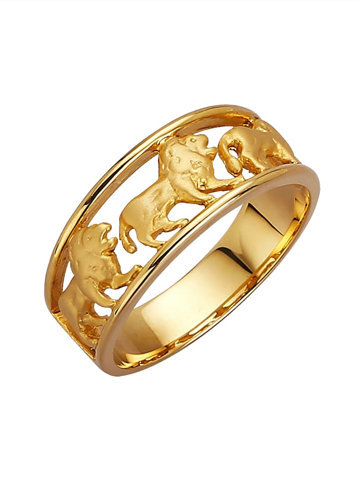 Löwen-Ring, Gelb