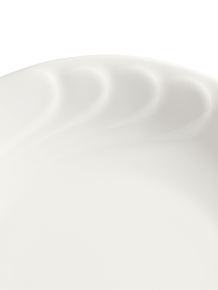 12 dielna jedálenská súprava 'Daphne' biela