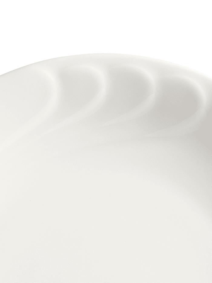 12tlg. Tafelservice 'Daphne', uni weiß