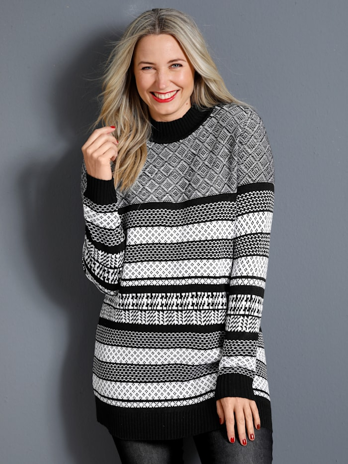 Pullover mit tollem Strickmuster