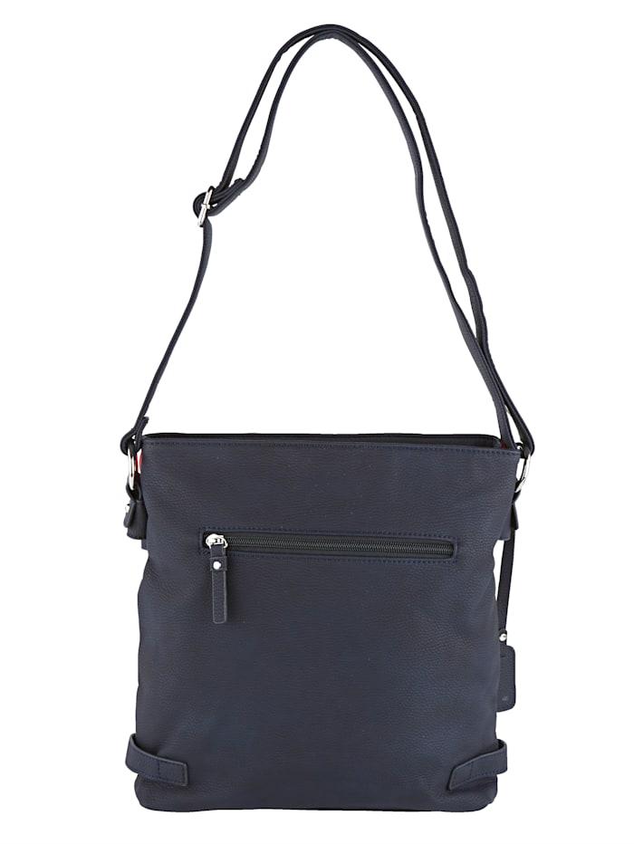Shoulder bag with detachable Rieker tag