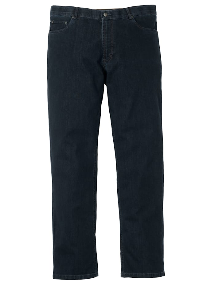 Jeans med specialskärning för män med mage