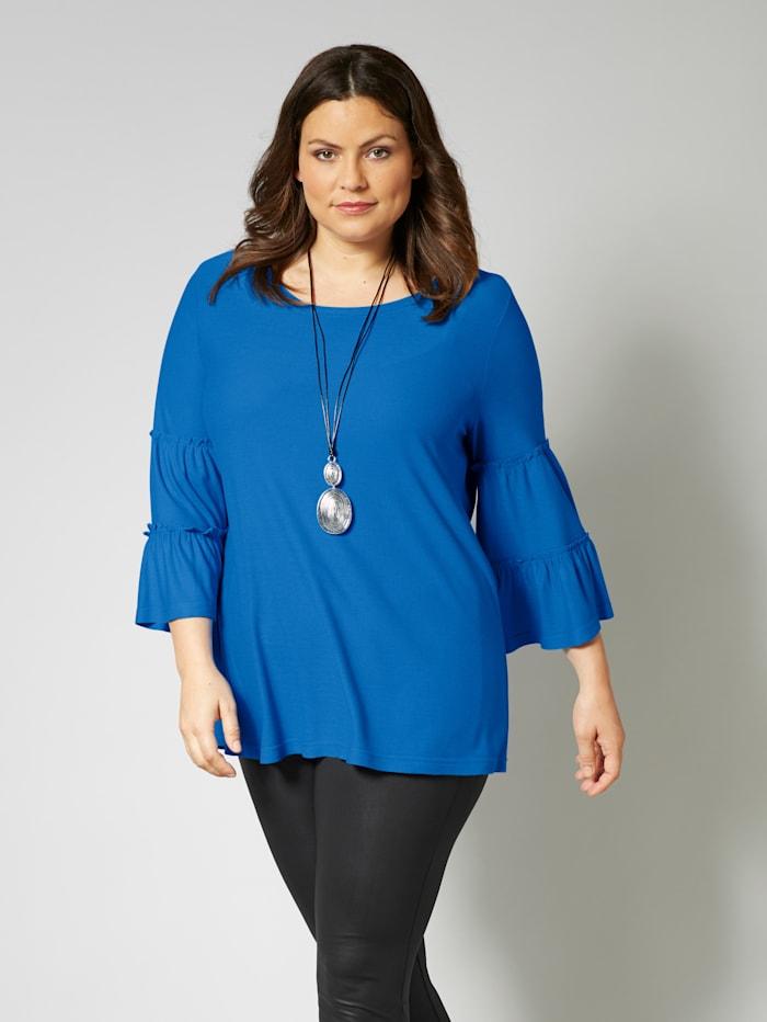 Sara Lindholm Shirt, Blau
