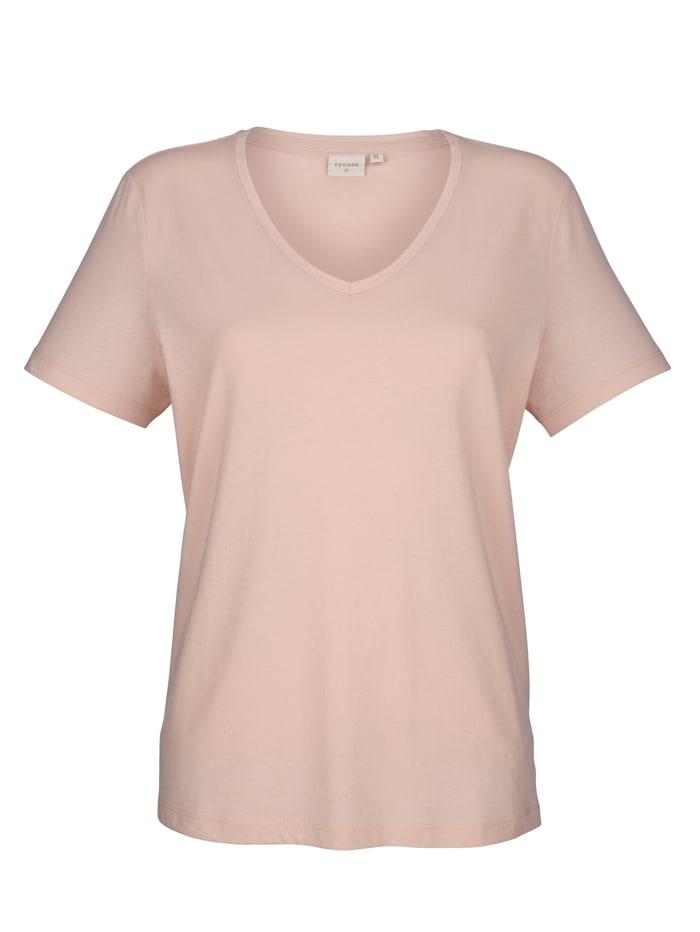 Shirt in hochwertigem Feinjersey