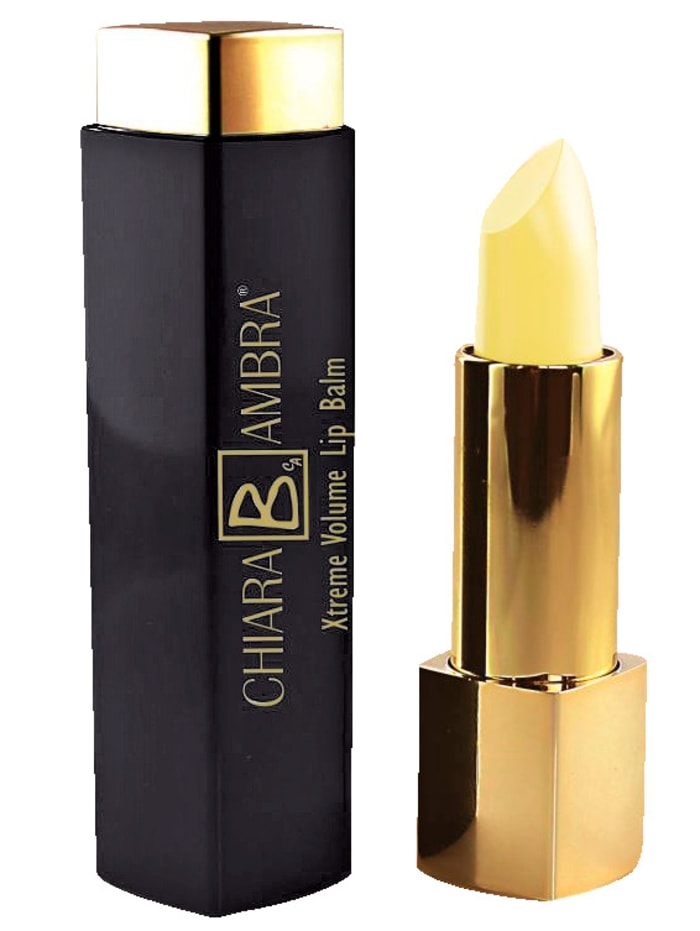 Chiara B. Ambra Xtreme Volume lippenbalsem, kleurloos