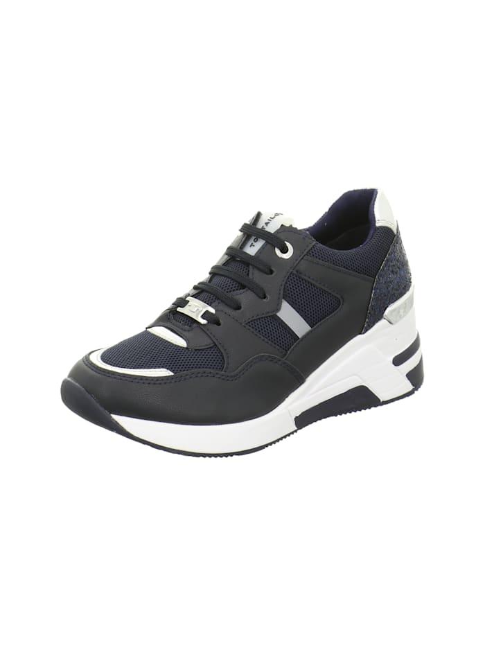Tom Tailor Sneakers, blau