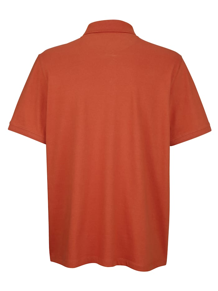 Poloshirt mit Druckknopfverschluss