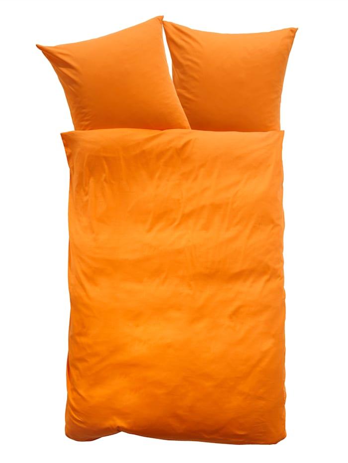 Kinzler 2-d. satén.posteľ.bielizeň Romy, oranžová