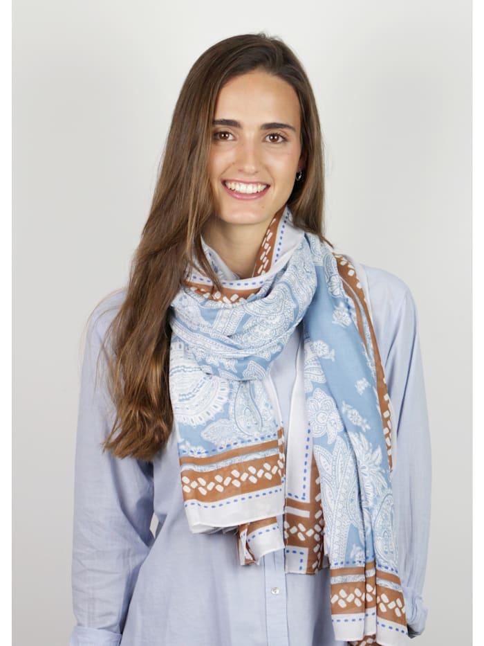 Softweicher Paisley-Schal aus edler Viskose