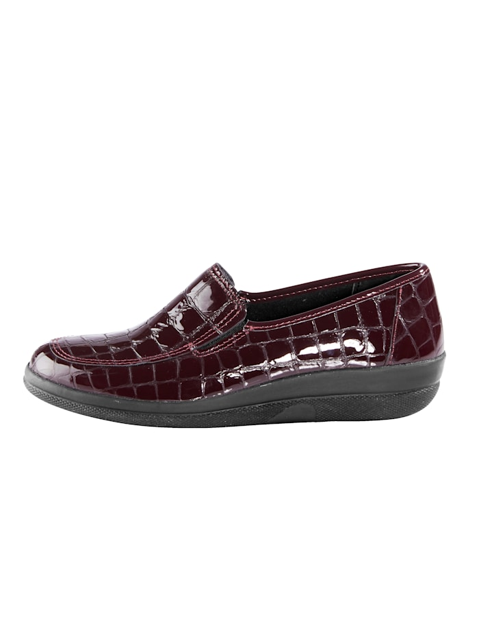 Loafers Elasticated insert at the side for added ease and comfort