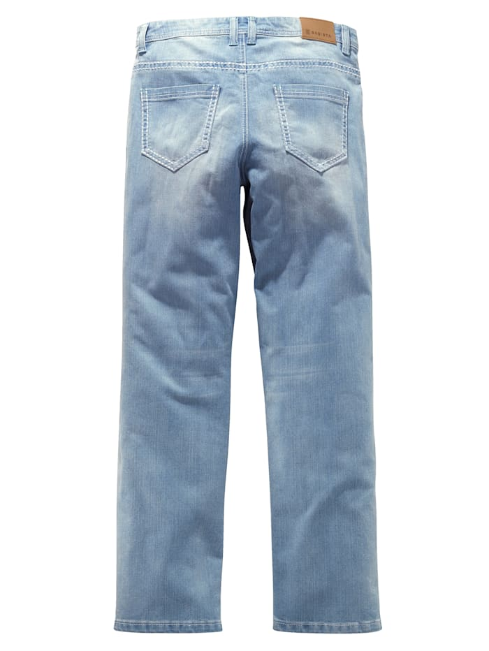 Jeans in modischer Used-Optik