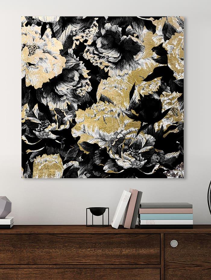 Acrylbild, Floral