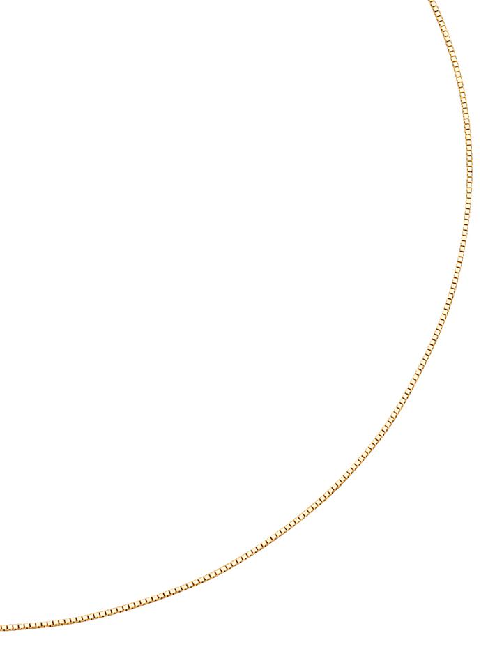 Venezianerkette in Massiv Gelbgold, Gelb